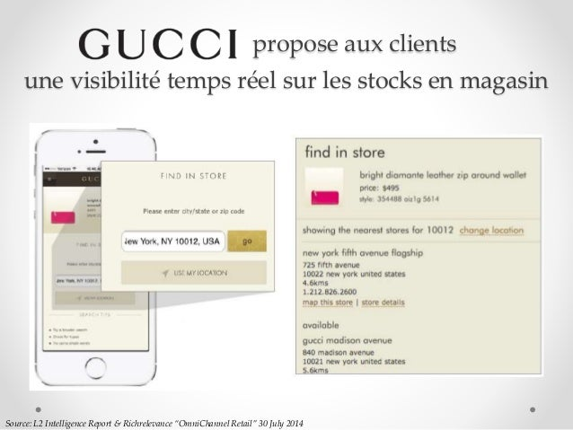 """Source: L2 Intelligence Report & Richrelevance """"OmniChannel Retail"""" 30 July 2014 propose aux clients une visibilité temps ..."""