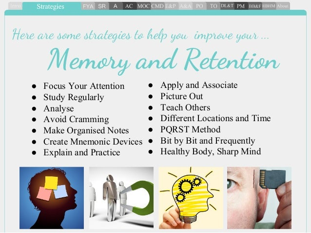 Essay on memory strategies