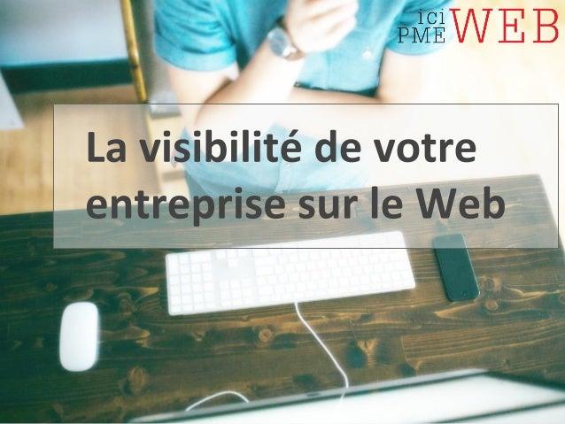 L'IDENTITÉ NUMÉRIQUE DE L'ENTREPRISE  C'est le lien technologique qui existe entre  l'entreprise et des entités virtuelles...