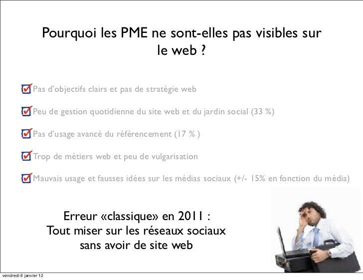 Strategie web pour les pme Slide 2