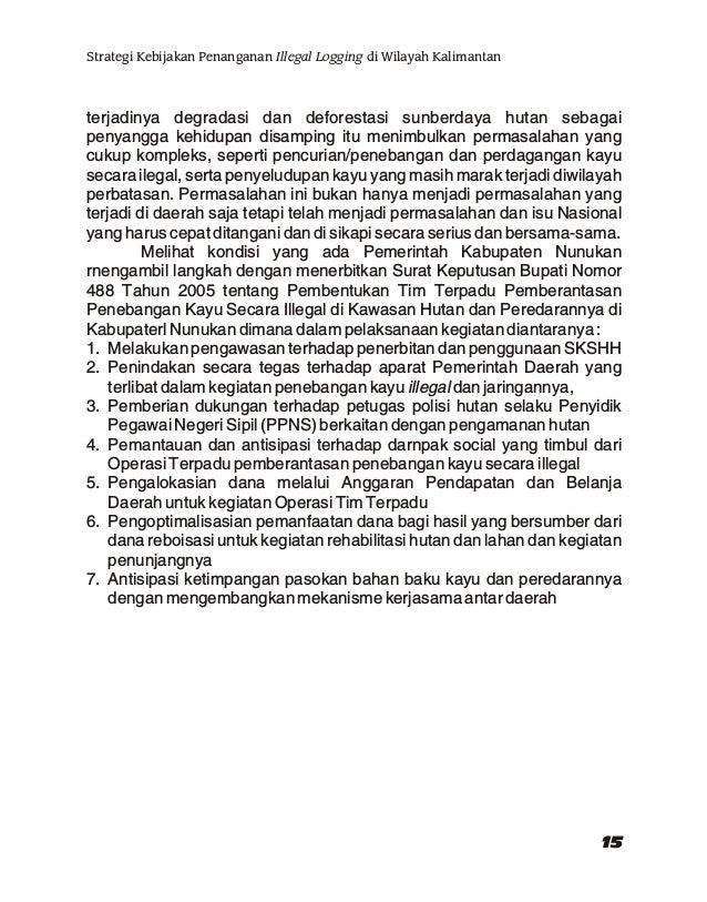 "Sulaiman N. Sembiring, SH (Pembicara V) Direktur IHSA-FLEGT SP (Institut Hukum Sumberdaya Alam) Jakarta Topik : ""Konsisten..."