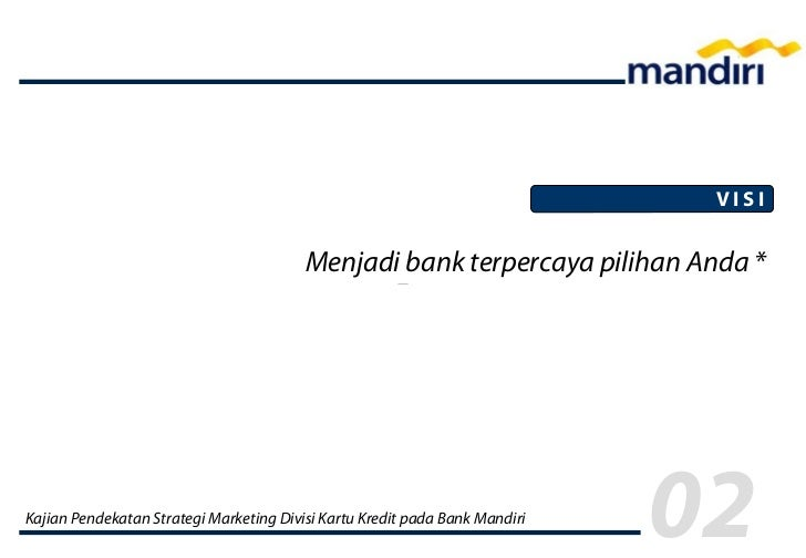 Marketing Credit Card Mandiri