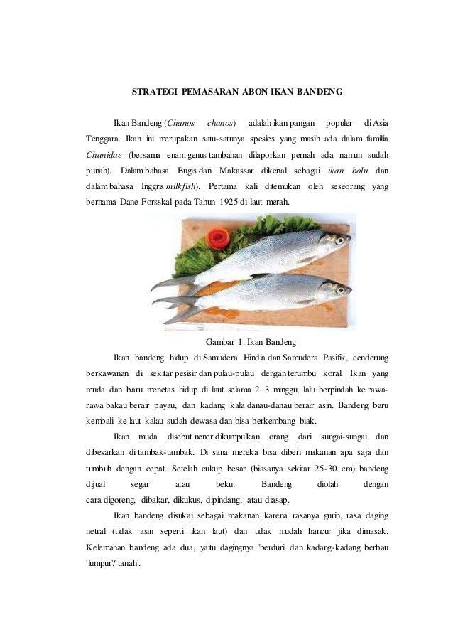 Strategi Pemasaran Usaha Abon Ikan Bandeng
