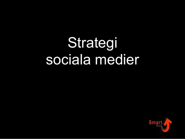 Strategi  sociala medier