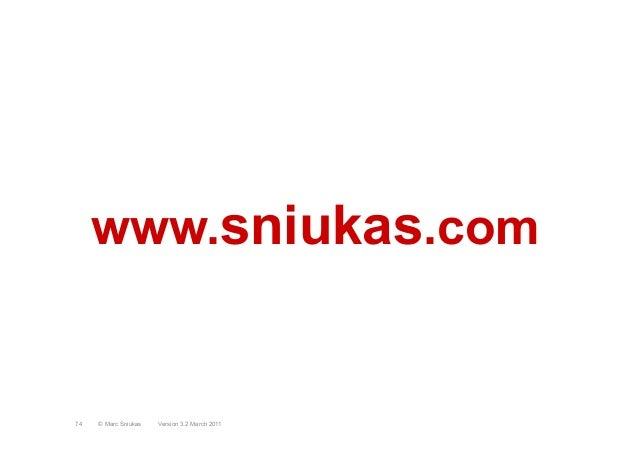 www.sniukas.comVersion 3.2 March 2011© Marc Sniukas74