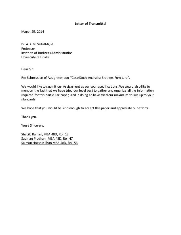 letter to professor about absence - Template