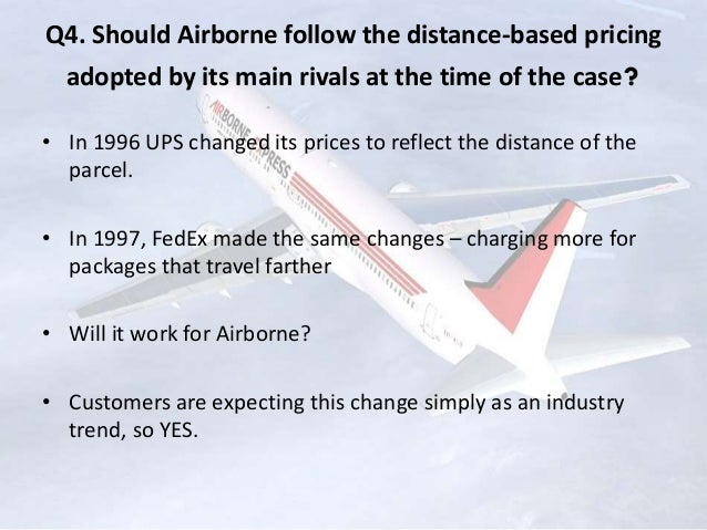 airborne express economics of strategy and Airborne express (a)  what can news corporation do to address the deteriorating economics of its  how is the strategy shaped by previous strategic actions and.