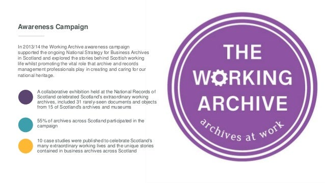 The National Strategy for Business Archives in Scotland
