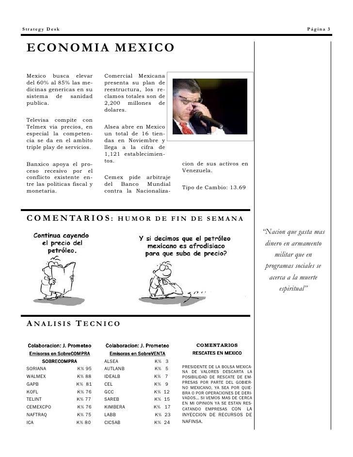 Strategy Desk                                                                                             Página 3    ECON...