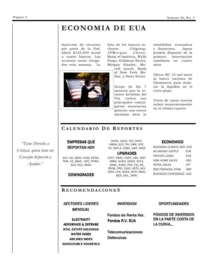 Página 2                                                                                        Semana 44, No. 1          ...
