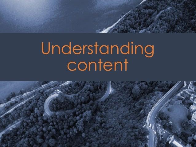 @ redsesame #confabEDU 17 Understanding content