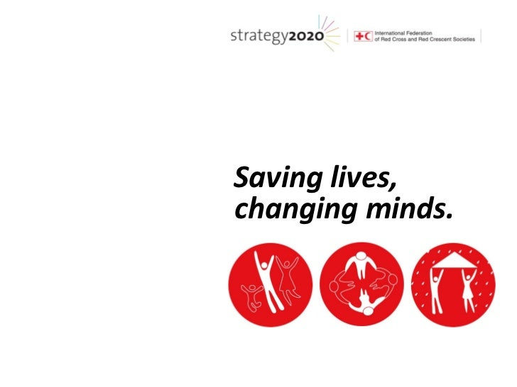 Saving lives,changing minds.