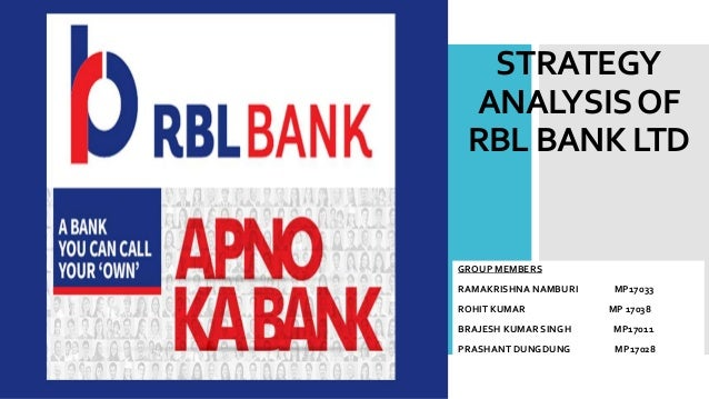 Strategy Analysis Of Rbl Bank Ltd