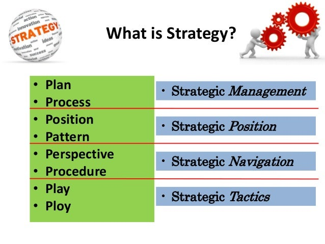 plan ploy pattern position perspective • plan, ploy, pattern, position, perspective as strategy in practice overview of some case examples.
