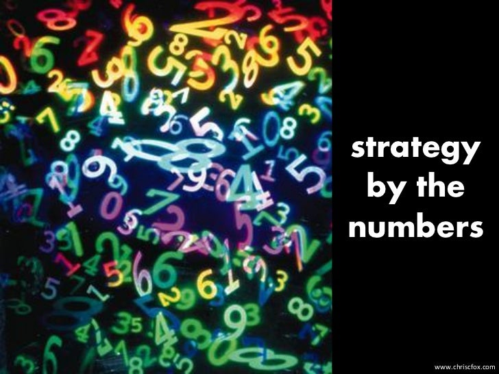 strategy by thenumbers     www.chriscfox.com