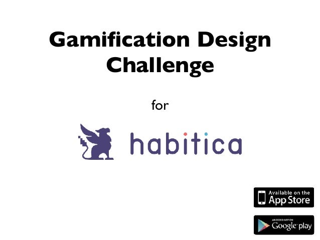 for Gamification Design Challenge