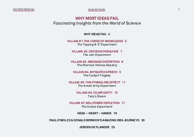 Strategy execution ebook why most ideas fail pdf 3 fandeluxe Gallery