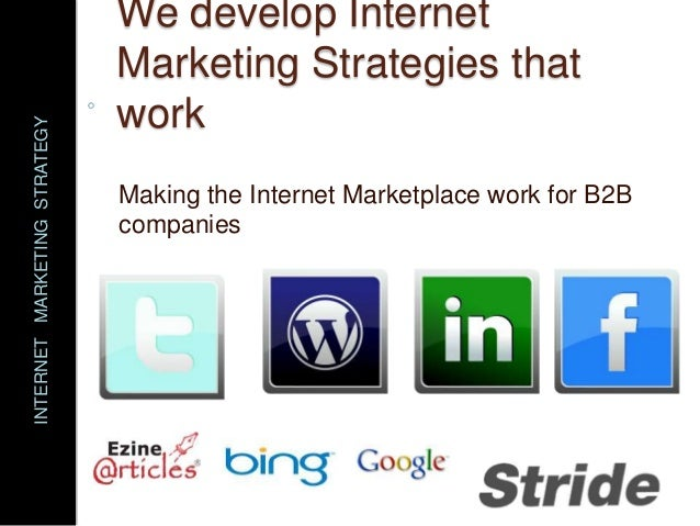 strategy and internet Technology strategy (information technology strategy or it strategy) is the overall plan which consists of objectives, principles and tactics relating to use of technologies within a particular organization such strategies primarily focus on the technologies themselves and in some cases the people who directly manage those technologies.