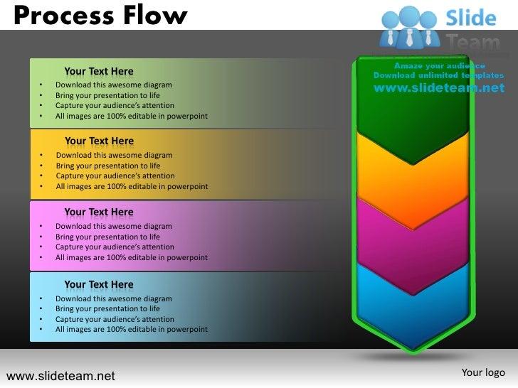 strategy flow powerpoint presentation templates., Presentation templates