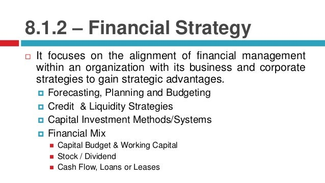 Financial Strategies in a Business Plan