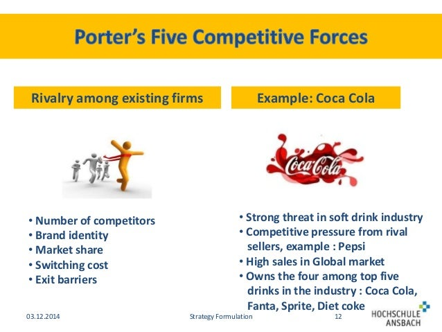 the rivalry among existing firms strong Analyzing starbucks' bargaining buyers power analyzing starbucks' bargaining supplier power analyzing starbucks' degree of rivalry among competitors (sbux) analyzing starbucks' threat of.