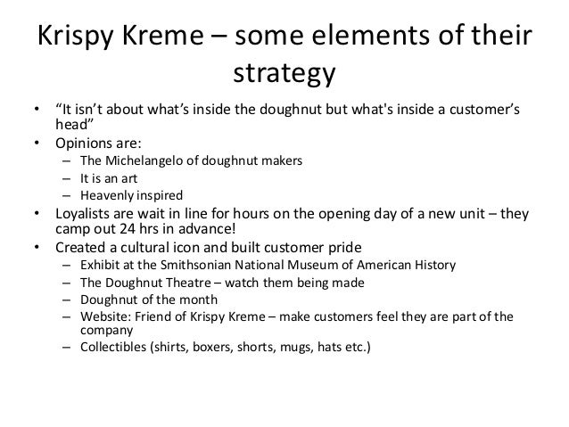 krispy kreme srategic plan essay Give and explain one reason why this alternate structure might better serve krispy kreme  get professional help with your research essay  strategic plan,.