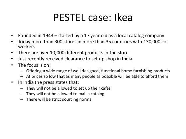 essay ikea pestle analysis