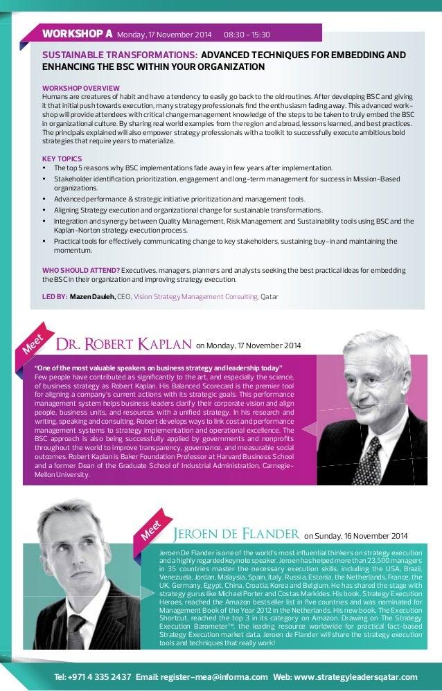 Strategy leaders qatar 2014 kaplan de flander 4 fandeluxe Gallery