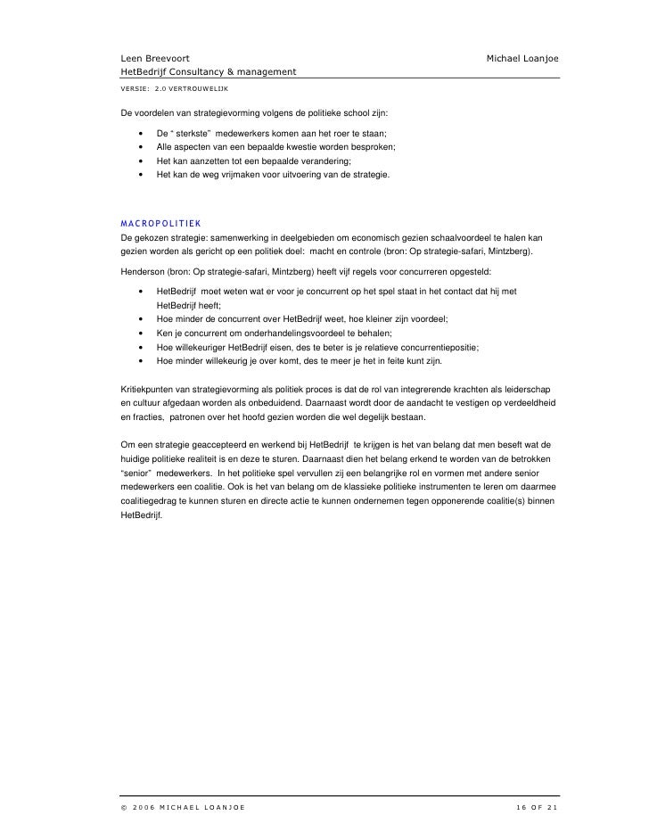 strategic management 17 essay Journal of comprehensive research, volume 5, page 17 strategic management process strategic management process dr i chaneta department of business studies.