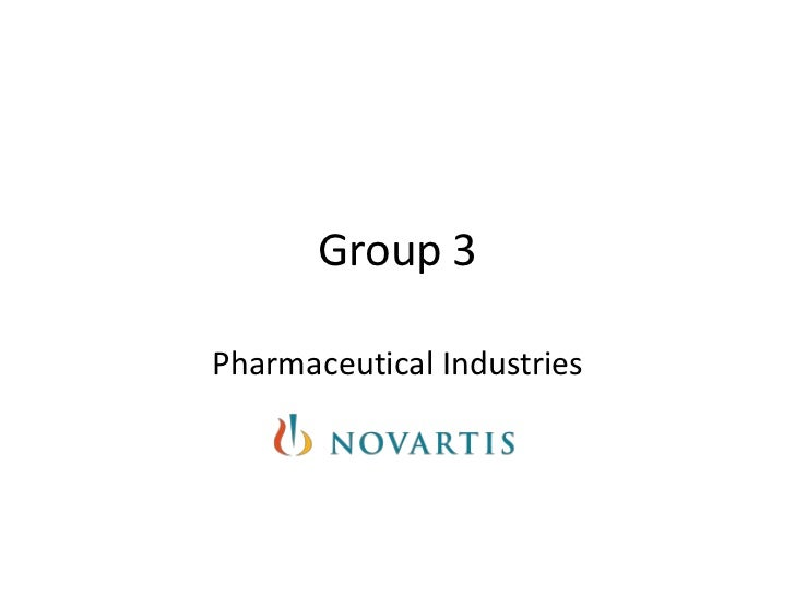 Group 3Pharmaceutical Industries