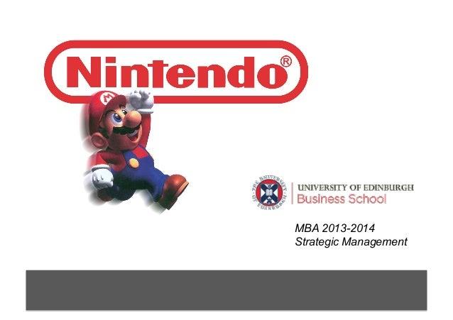 MBA 2013-2014 Strategic Management
