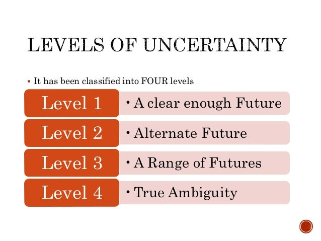 strategy under uncertainty Making under uncertainty—and which cannot at a broader level, it offers us a discipline for thinking rigorously and systematically about uncertainty and its implications for strategy.
