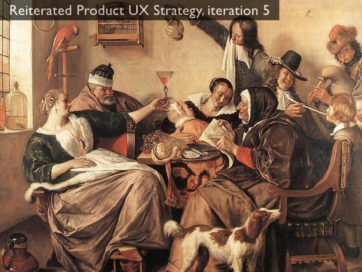 Reiterated Product UX Strategy, iteration 5                               Mission Statement            Vision             ...