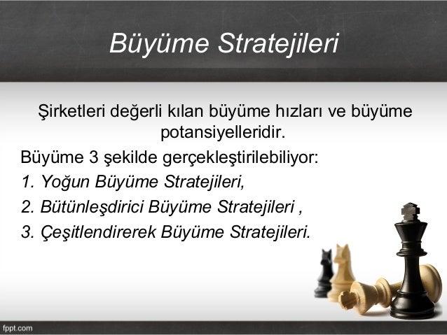 Buyume ve Rekabet Stratejileri Slide 3