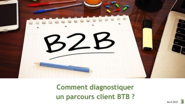 Comment diagnostiquer un parcours client BTB ? Avril 2017
