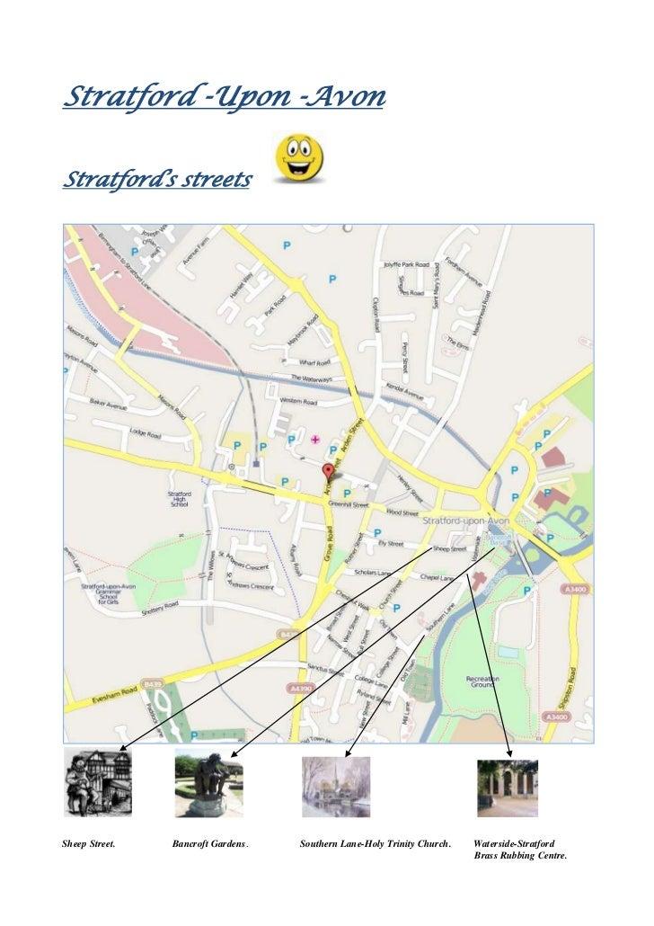 Stratford -Upon -Avon <br />Stratford's streets  <br />                                    <br />Sheep Street.            ...