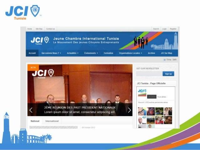 JCI Mobile• Actualité• Evénement• Géo localisation des OLMs• Contact des OLMs• …