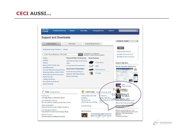 CECI AUSSI…  Forums, contenus utilisateurs