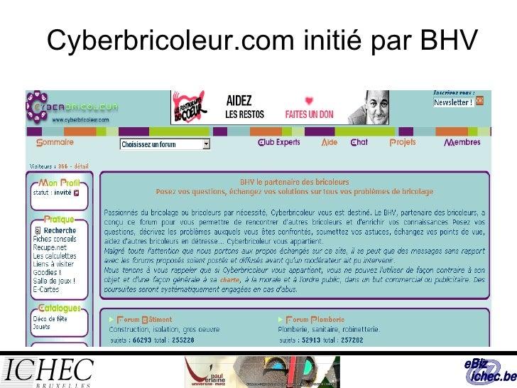 Cyberbricoleur.com initié par BHV