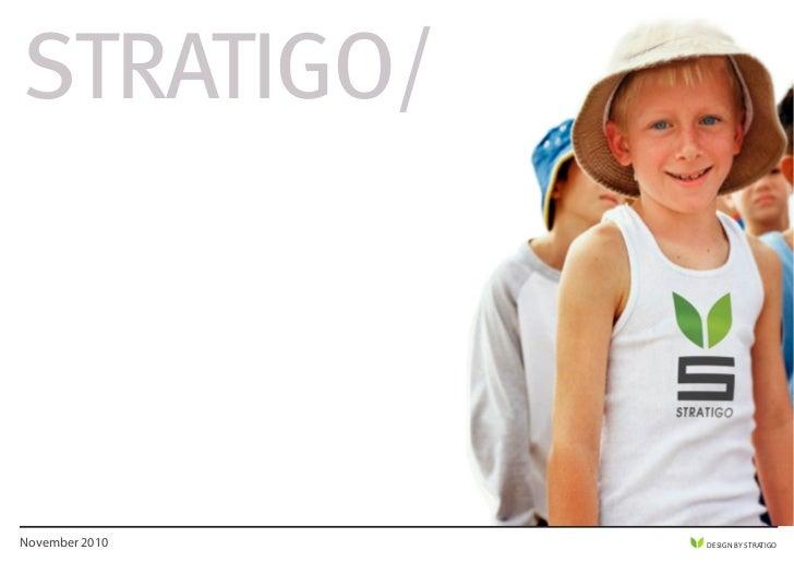 STRATIGO/November 2010   DESIGN BY STRATIGO