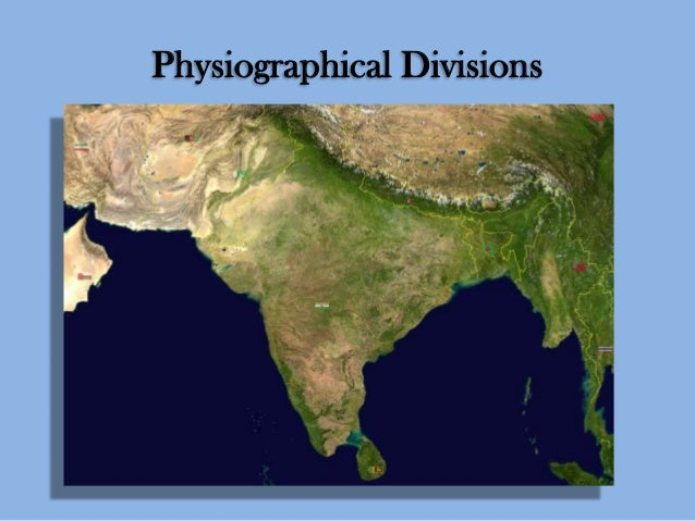 Physiographical Divisions