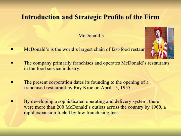 introduction of mcdonalds One of the bestselling texts in the field, introduction to fluid mechanics continues to provide students with a balanced and comprehensive approach to mastering critical concepts the new eighth edition once again incorporates a proven problem solving methodology that will help students develop an orderly plan to finding the right solution.