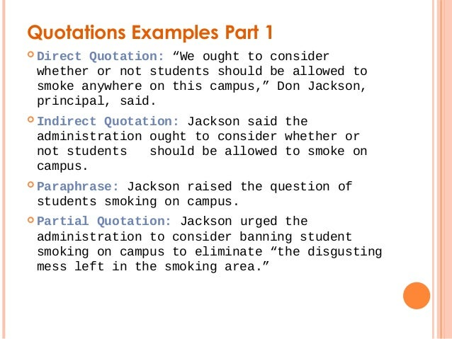Quotations and Attributions 2011