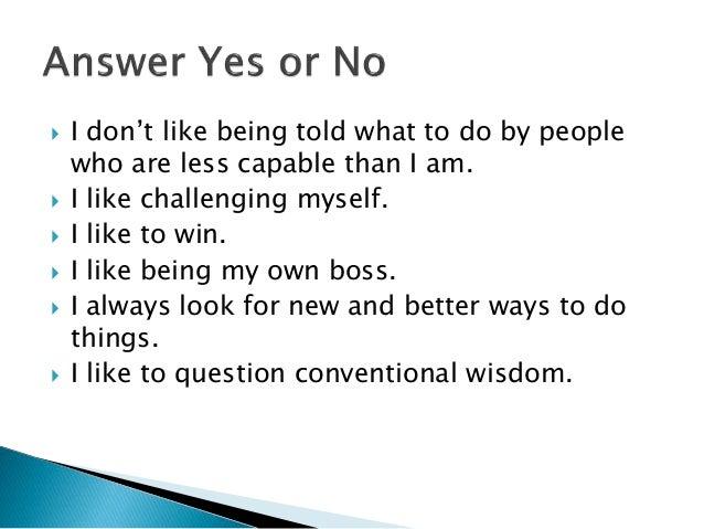 From an Unentrepreneur 2011 Slide 3