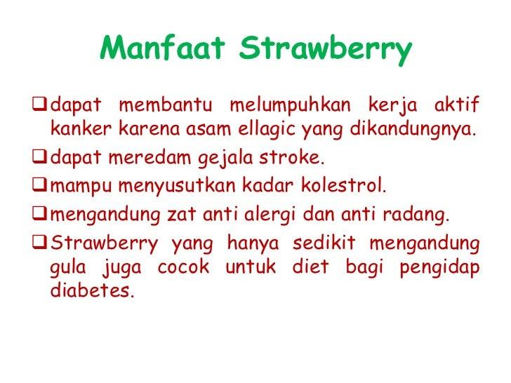 makanan dan minuman dari strawberry             ????