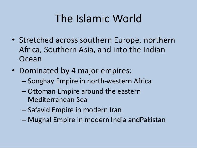 The World of the 15th Century Part 3 Slide 2