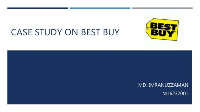 Best buy case study