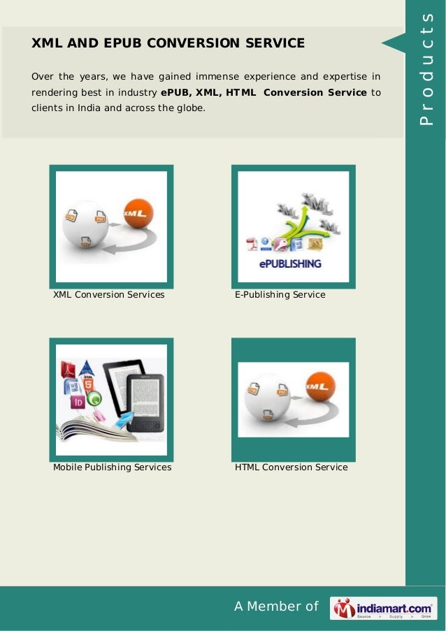 Over the years, we have gained immense experience and expertise in rendering best in industry ePUB, XML, HTML Conversion S...
