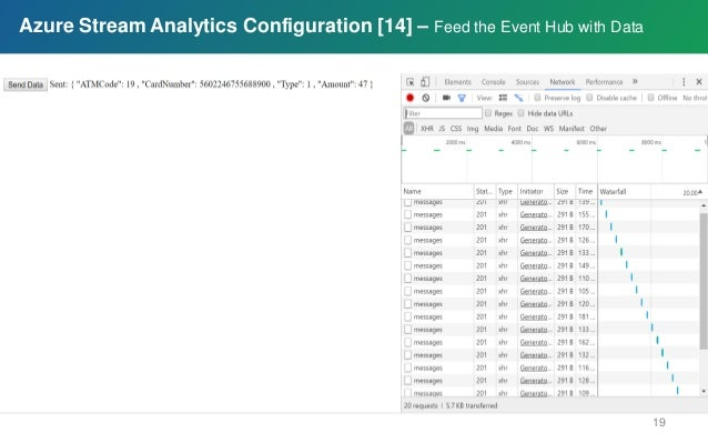 Azure Stream Analytics Project: On-demand real-time analytics