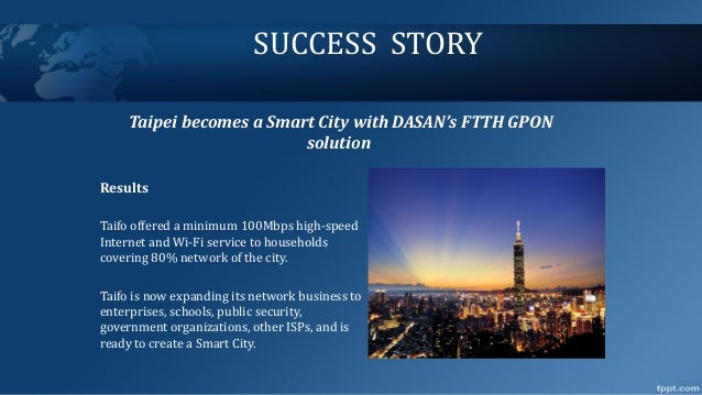 Algiers to become a smart city with FTTH GPON solution by